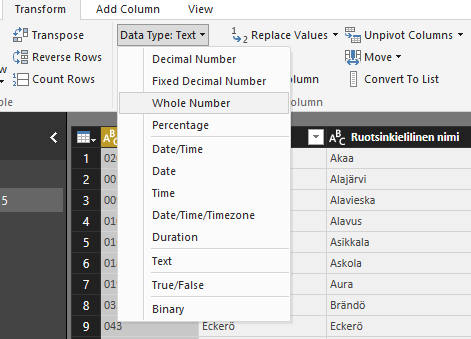 PowerBI change data type.png