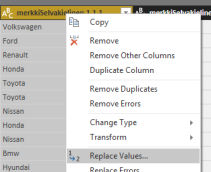 powerbi-query-editor-replace-values