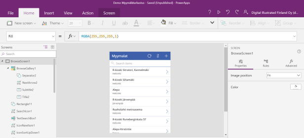 powerapps step1