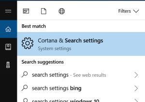 cortana settings 1