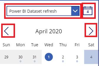 kalenteri updated variables
